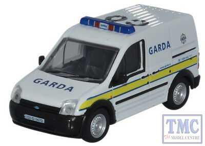 76FTC007 Oxford Diecast 1:76 Scale OO Gauge Ford Transit Connect Garda