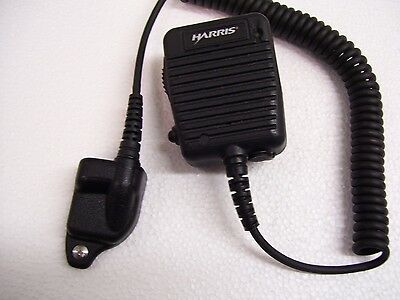 1- Harris Speaker Microphone P-5300-5400-5500- Mc-023933-001