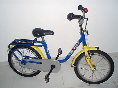 puky zl 18 kinderfahrrad fu ball 18 blau radgr e 18 zoll. Black Bedroom Furniture Sets. Home Design Ideas