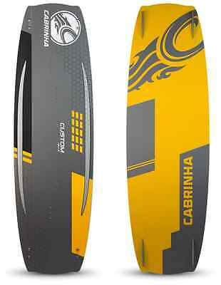 New 2015 Cabrinha Custom Kiteboard 139x42 Complete w/ Fins and H2 Footstraps