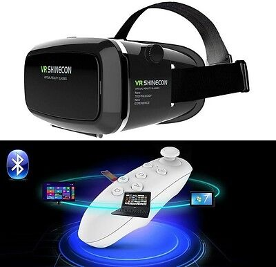 VR Shinecon 3D GLASS for iPhone + FREE WHITE BLUETOOTH GAMEPAD + FAST DELIVERY