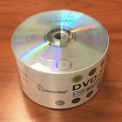 500 SmartBuy Economy DVD-R DVDR 16X 4.7GB Logo Blank Media Disc Lowest on eBay