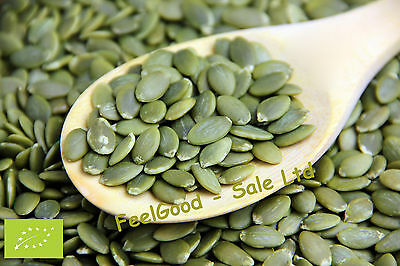 Organic Pumpkin Seeds 1kg Only £10.95 Edible Raw Free & Fast Delivery
