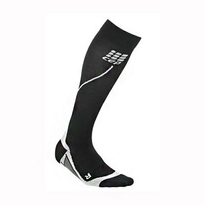 CEP Progressive+ Run Compression Socks 2.0 Men's Black Size 4