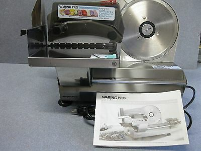 Waring Pro Fs800 Electric Food Slicer