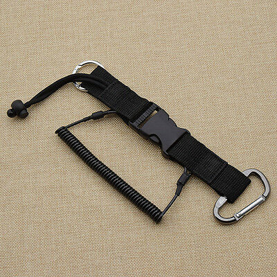 Spring Coil Scuba Diving Quick Release Buckle for Camera Undersea Photography