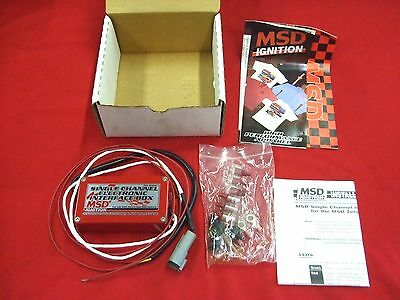 New Msd Control Ignition Electronic Interface  Box,83581