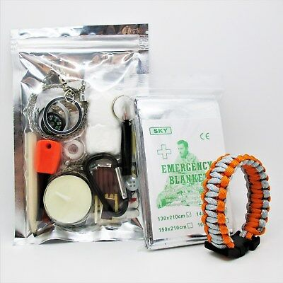 ULTIMATE SURVIVAL KIT scouts cadets military camping hiking bushcraft outdoors