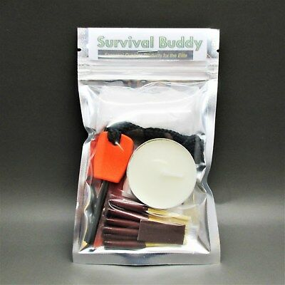 SB FIRE LIGHTING STARTER SET survival kit scouts cadets military camping hiking