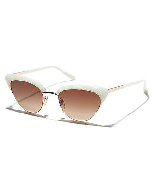 New Sunday Somewhere Pixie Womens Sunglasses Sunnies Shades Protection White
