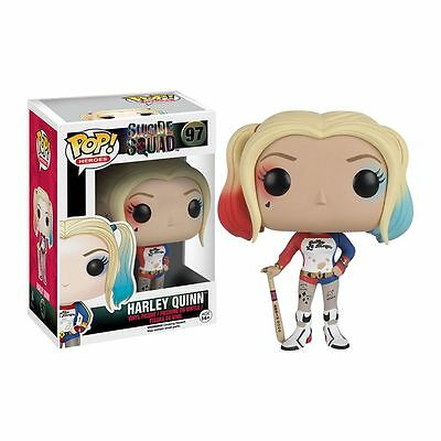 #97 Harley Quinn Funko Pop! Movies Suicide Squad Vinyl Action Figure Gift