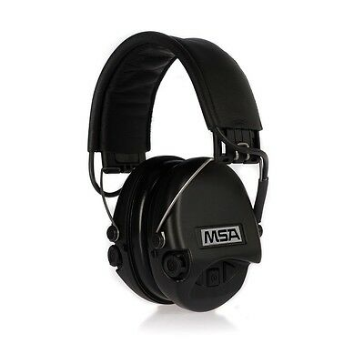 MSA Safety Sordin Supreme Pro Hearing protection with AUX input, Color: black
