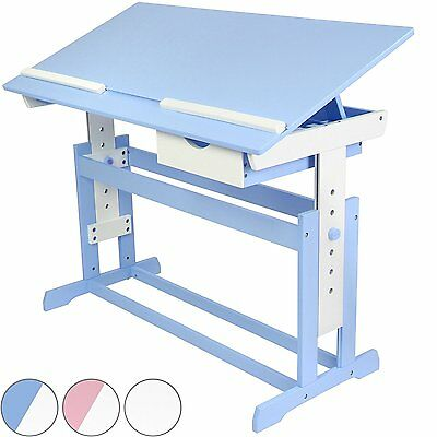 Infantastic Children''s Desk Choice of Colours Kids'' Study Writing Table - Blue