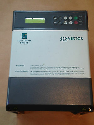 Inverter Eurotherm 620 Vector Series Drive 620Com/0015/400/0020 2.5Kw  3Hp