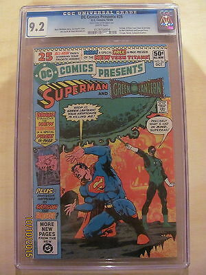DC Comics Presents #26 CGC 9.2 Near Mint- 1st app Cyborg & New Teen Titans 1980