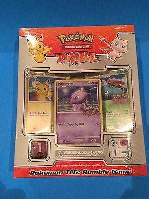 ( RUMBLE GAME ) Pikachu Mewtwo Venusaur Mew 16 cards + - Box Sealed New! Pokemon