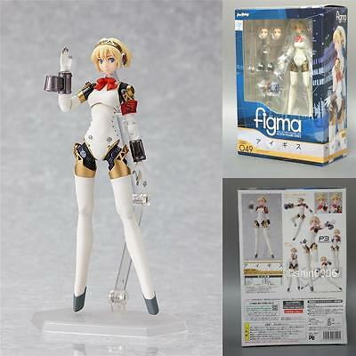 New Figma Aigis 049 Persona 3 PVC Action Figure Max Factory Japan