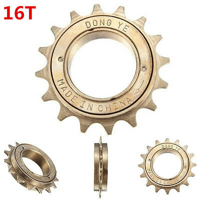 """1/8"""" 16T Tooth Singlespeed Freewheel Sprocket For BMX Bike Bicycle Replacement"""