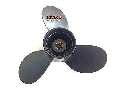 Propeller Aluminium 3B2-64517 fit Tohatsu Nissan Outboard 8HP - 9.8HP (8.5) 8.9""