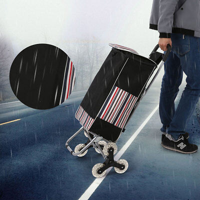 Durable Metal Cart Folding Dolly Push Truck Trolley Luggage Hand Extendable NEW
