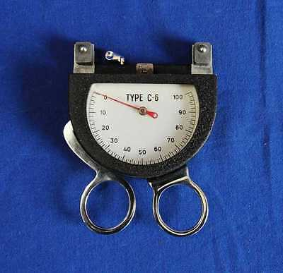 Cable Tensiometer  Pacific Scientific Company Type-C6!+++