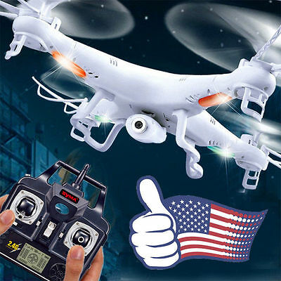 Syma X5C1 Explorers 2.4Ghz 4CH 6Axis Gyro RC Quadcopter Drone w/ HD Camera RTF A
