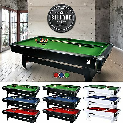 Miweba Pool Table 7 Ft Billard Billiardtisch Snooker Pool 7 Foot Billiard
