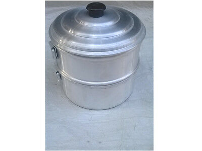 Heart Patients Oil Free Aluminum Steamer 1 Strainer One Bowl/tamale Steamer