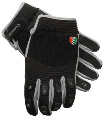 Scooter Vespa Lambretta Corazzo Black Grey Urbano Glove - XL