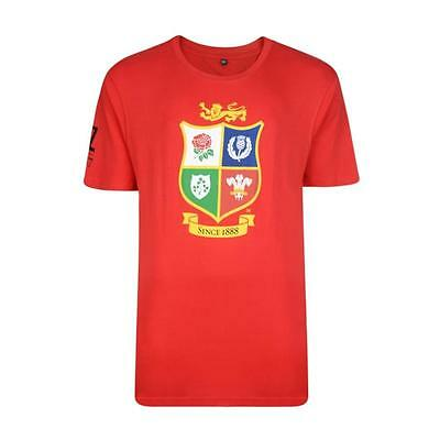 British and Irish Lions Men's Large Logo T-Shirt