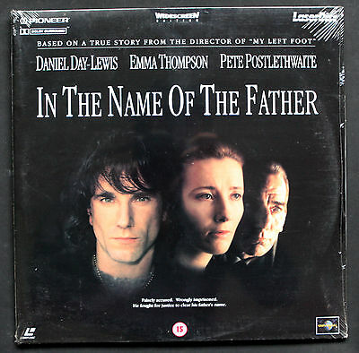 In the name of the father 2 Disc Laserdisc PAL Format New/sealed