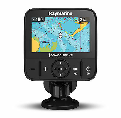 Raymarine Dragonfly 5M GPS Chart Plotter with navionics silver chart UK and Ire