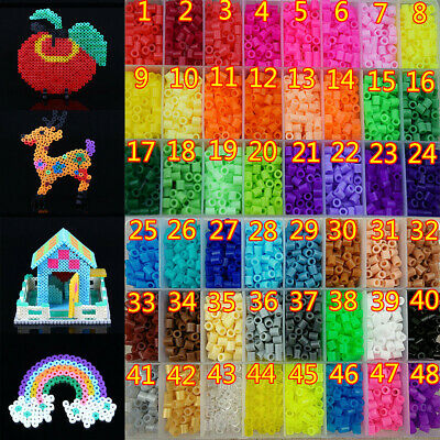 New 250/500/1000pcs PP HAMA/PERLER BEADS for Child Gift GREAT Kids Great Fun 5mm