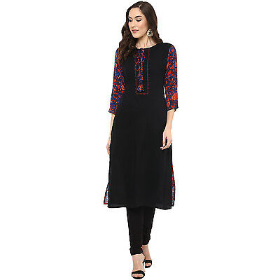 Indian Bollywood Designer Lagi Rayon Kurti Ethnic Style Dress Top Tunic Women
