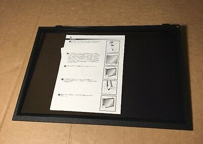 3M PF322W Framed Desktop LCD Privacy Filter - For Use With 22 Widescreen. X 2
