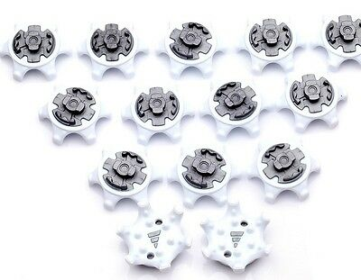 14Pcs Pins 1/4 Turn Golf Spikes Fast Twist Shoe Spikes Replacement