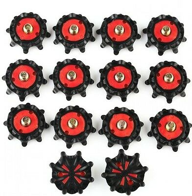 New 14Pcs Stinger Golf Shoe Spikes Fast Twist Studs Replacement For FootJoy