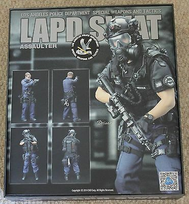 did action figure 1/6 12'' lapd swat driver boxed toy  dragon cyber hot toys