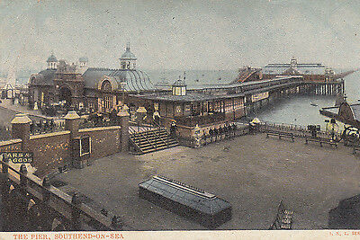 Old  P/c   The Pier, Southend-On-Sea, Essex, 1905