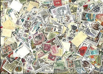 CZECHOSLOVAKIA  Lots 100+ Miscellaneous Very Fine & Fine Used stamps.