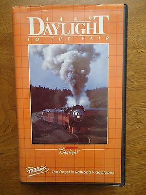 Southern Pacific 4449 Daylight To The Fair - Railroad - Pentrex Vhs Video