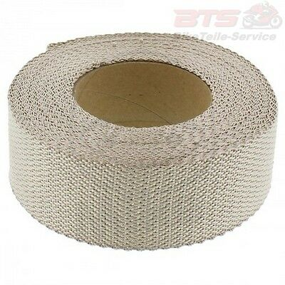 Hitzeschutzband 15M X 50MM MESSING-ROH SILENT SPORT EXHAUST INSULATION WRAP