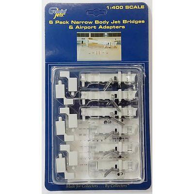 Gemini Jets Gjarbrdg1 1/400 Air Bridge Set 1 (6 Narrow Body)