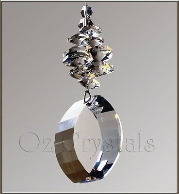 Suncatcher made with 50mm Swarovski Strass Crystal Clear Energy Gate - Gift Box