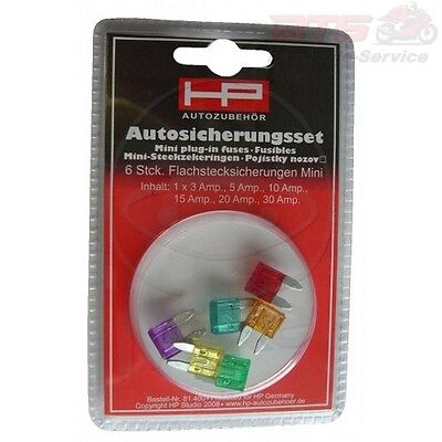 Sicherung Sortiment Mini-Flachstecksicherung MINI FLAT BLADE FUSES ASSORTMENT