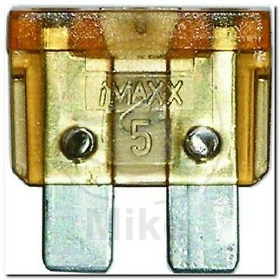 Sicherung 5A hellbraun BLADE FUSE 5A LIGHT BROWN