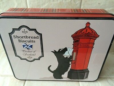 Butter Shortbread biscuits SCOTTISH TERRIER dog EASTER GIFT Tin 200g cookie