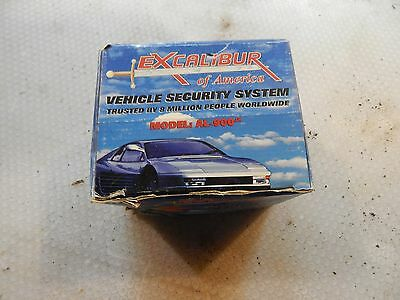 Excaliber Vehicle Security System New In Box With Remotes Al-900Jx