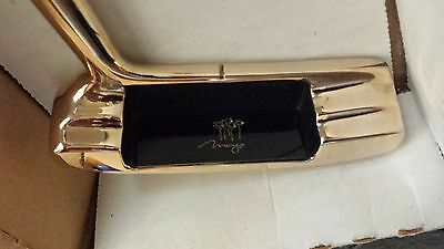 Mirage Hotel and Casino Las Vegas Nevada Gold Plated Putter by Sutters' Mills