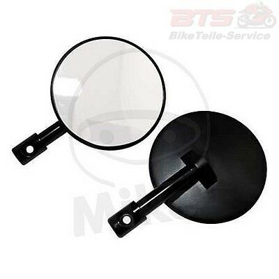 Spiegel LENKERENDE schwarz 1 paar SHIN YO SUPERBIKE BAR END MIRROR BLACK